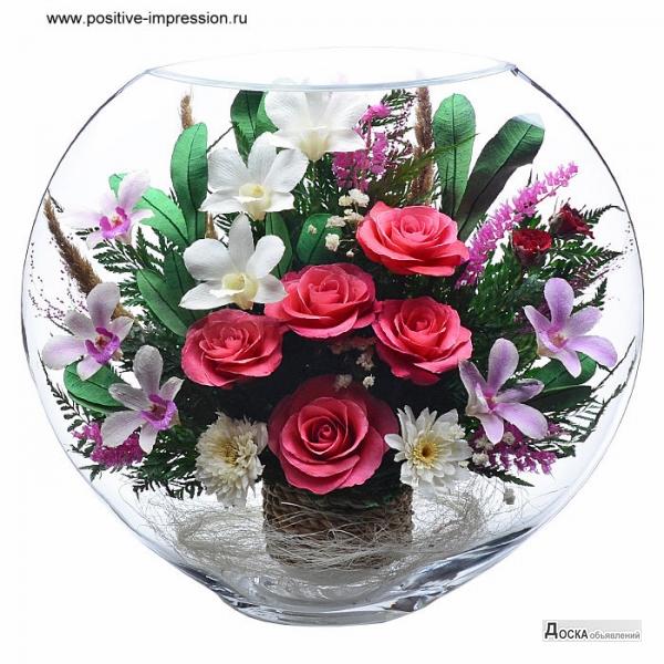Стабилизированные цветы в омске купить искуственные цветы купить в ростове-на-дону