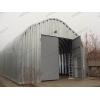 Бескаркасный, арочный, разборный ангар со склада в Омске.