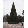 Искусственные елки купить. Большие уличные елки в Омске.