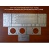Изготовление металлических шильдиков-табличек  для станков