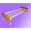 Металлические двухъярусные кровати для общежитий, кровати для санаториев, кровати оптом. Низкие цены.