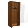 Шкаф ДСП для одежды одностворчатый с четырьмя полками