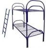 Железные армейские кровати, кровати одноярусные, двухъярусные, кровати со спинками ЛДСП, кровати оптом от производителя