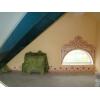 Различная трафаретная роспись стен и роспись потолков