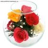 Подарки, стабилизированные цветы в стекле, в Омске.