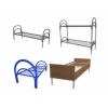 Кровати металлические и ДСП, кровати одноярусные и двухъярусные, кровати для бюджетных гостиниц, кровати для общежитий, оптом